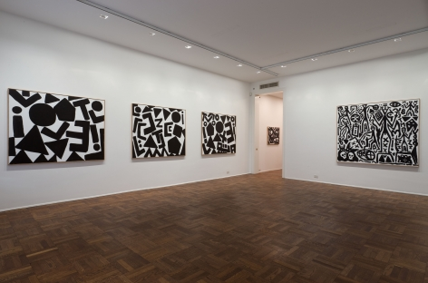 A.R. Penck, New System Paintings, 2009, Michael Werner New York Image 4