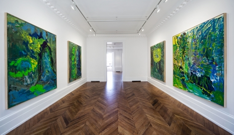 PER KIRKEBY Recent Paintings 5 June through 27 July 2013 MAYFAIR, LONDON, Installation View 7