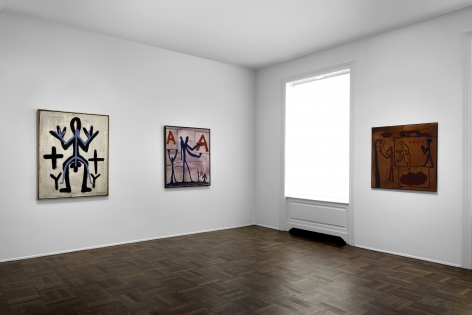 A.R. PENCK Early Works 9 June through 2 September 2016 UPPER EAST SIDE, NEW YORK, Installation View 4