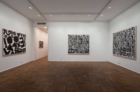 A.R. Penck, New System Paintings, 2009, Michael Werner New York Image 3