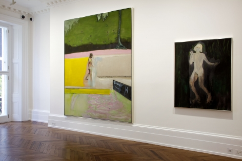 PETER DOIG, New Paintings, London, 2012, Installation Image 1