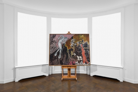 JÖRG IMMENDORFF Questions from a Painter Who Reads 21 February through 13 April 2019 UPPER EAST SIDE, NEW YORK, Installation View 13