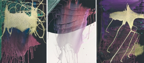 """Sigmar Polke """"Untitled"""", 2001"""