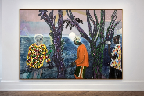 Peter Doig, London, 2017-2018, Installation Image 2