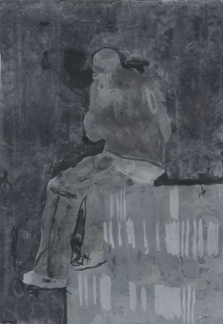 """Hurvin Anderson, """"Seated Figure 1"""", 2006"""