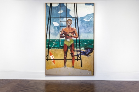 Peter Doig, London, 2017-2018, Installation Image 7