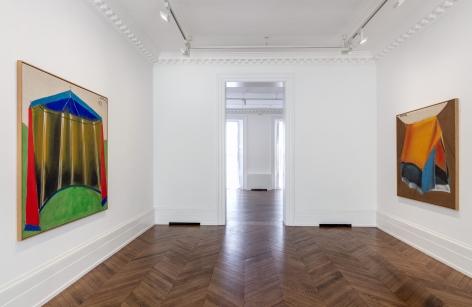 MARKUS LÜPERTZ, Tent Paintings, 1965, London, 2018, Installation Image 2