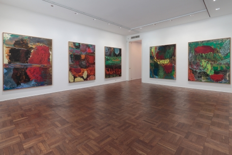 Per Kirkeby, New Paintings, New York, 2011, Installation Image 1