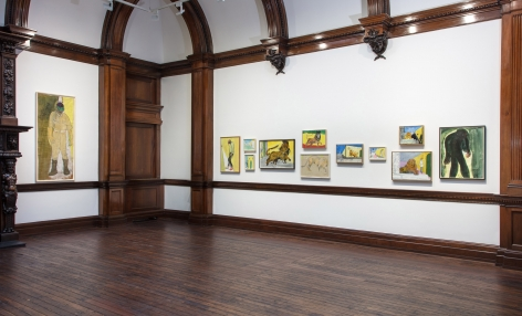 Peter Doig, London, 2017-2018, Installation Image 13