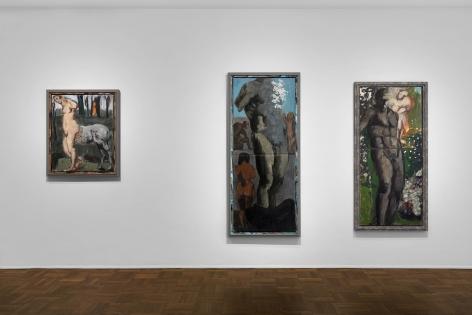 Markus Lüpertz, New Paintings, New York, 2017, Installation Image 4