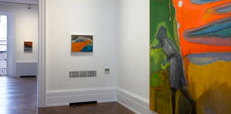 PETER DOIG, New Paintings, London, 2012, Installation Image 4