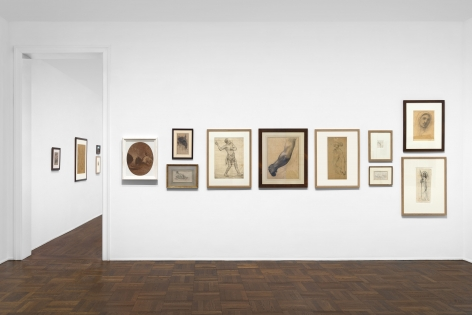 PIERRE PUVIS DE CHAVANNES, Works on Paper and Paintings, New York, 2018, Installation Image 1