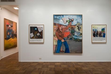 JÖRG IMMENDORFF, Maoist Paintings - The Early Seventies, 2009, Michael Werner New York Image 1