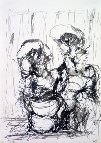 """""""P.D. im Raum (P.D. in Room)"""""""", 1962"""