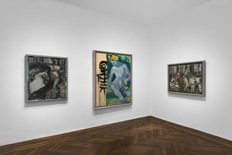 Markus Lüpertz, New Paintings, New York, 2017, Installation Image 12