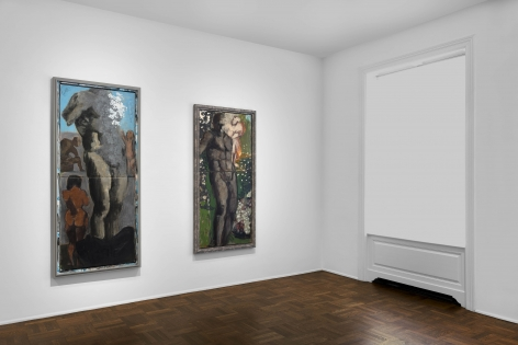 Markus Lüpertz, New Paintings, New York, 2017, Installation Image 5