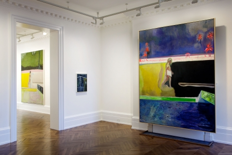 PETER DOIG, New Paintings, London, 2012, Installation Image 7