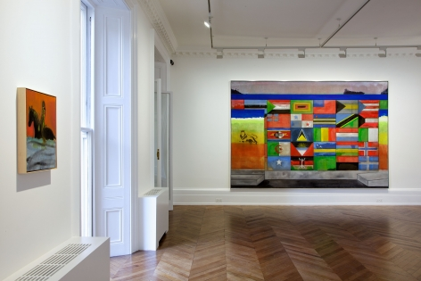 PETER DOIG, New Paintings, London, 2012, Installation Image 9