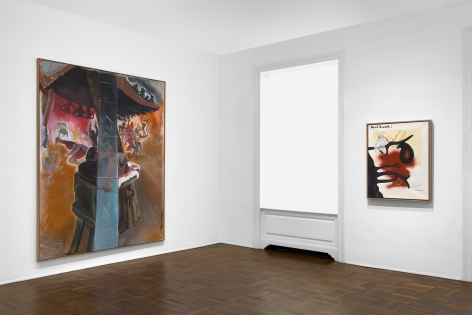JÖRG IMMENDORFF Questions from a Painter Who Reads 21 February through 13 April 2019 UPPER EAST SIDE, NEW YORK, Installation View 4