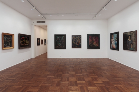 Francis Picabia, Late Paintings, New York, 2011-2012, Installation Image 1