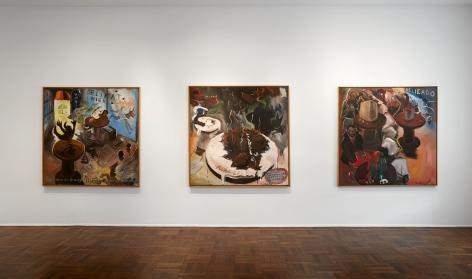 Jörg Immendorff, Café Deutschland, New York, 2014, Installation Image 2
