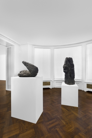 PER KIRKEBY, Paintings and Bronzes from the 1980s, New York, 2018, Installation Image 17