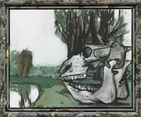 "Markus Lüpertz ""Spiegelung (Reflection)"", 2014"