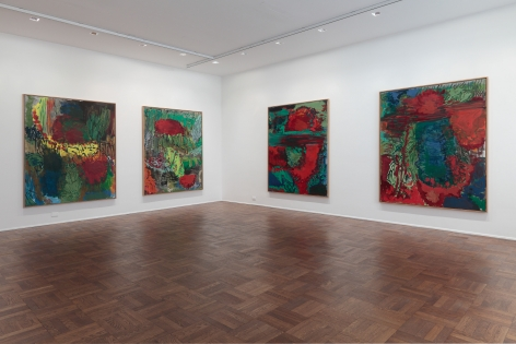Per Kirkeby, New Paintings, New York, 2011, Installation Image 3