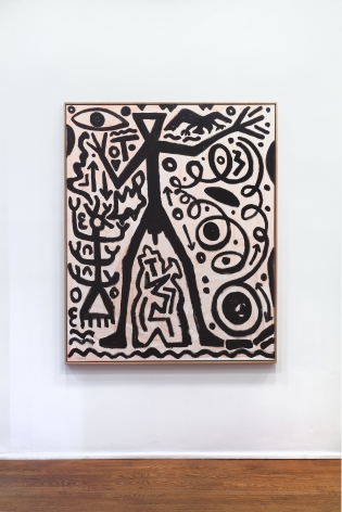 A.R. PENCK New Paintings 10 January through 9 March 2013 UPPER EAST SIDE, NEW YORK, Installation View 9