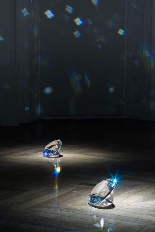 JAMES LEE BYARS, The Diamond Floor, London, 2015, Installation Image 9