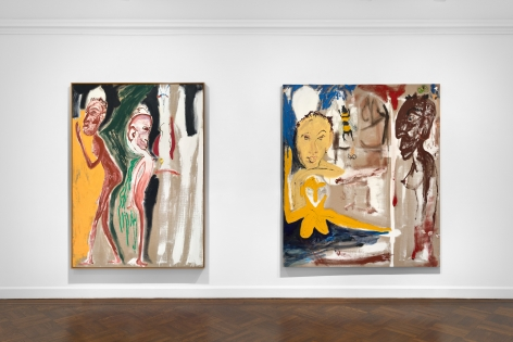 Don Van Vliet, Parapliers the Willow Dipped, Paintings 1967-1997, New York, 2020, Installation Image 15