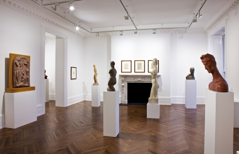 WILHELM LEHMBRUCK Sculpture and Works on Paper 21 March through 25 May 2013 MAYFAIR, LONDON, Installation View 12