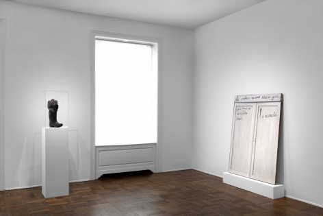 MARCEL BROODTHAERS Écriture 28 January through 26 March 2016 UPPER EAST SIDE, NEW YORK, Installation View 6