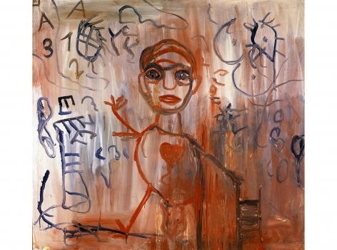 """""""Ralf"""", 1962 Oil on canvas"""