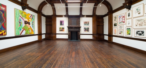 Peter Doig, Early Works, London, 2014, Installation Image 14