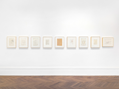 Sigmar Polke, Objects: Real and Imagined, London, 2020, Installation Image 9