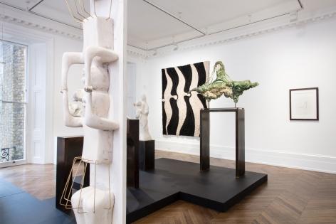 Enrico David, London, 2017, Installation Image 4