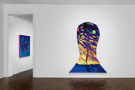 AARON CURRY Headspace 9 September through 29 October 2016 UPPER EAST SIDE, NEW YORK, Installation View 1