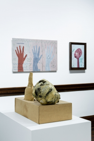 A.R. PENCK, Early Works, London, 2015, Installation Image 21