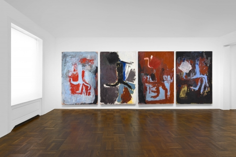 Georg Baselitz, 1977-1992, New York, 2017-2018, Installation Image 5