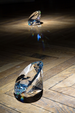 JAMES LEE BYARS, The Diamond Floor, London, 2015, Installation Image 10