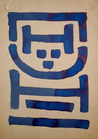 "A.R. Penck ""Untitled (Standart)"", ca. 1967-1968"
