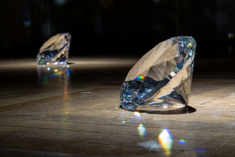JAMES LEE BYARS, The Diamond Floor, London, 2015, Installation Image 11