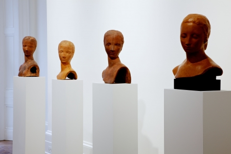 WILHELM LEHMBRUCK Sculpture and Works on Paper 21 March through 25 May 2013 MAYFAIR, LONDON, Installation View 16