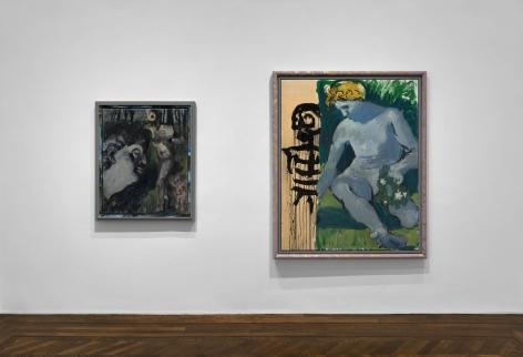 Markus Lüpertz, New Paintings, New York, 2017, Installation Image 11