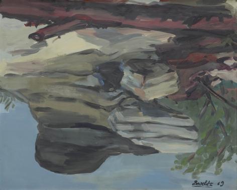 """""""Hochsteinklippen (Hochstein Cliffs) Cliffs)"""", 1969"""