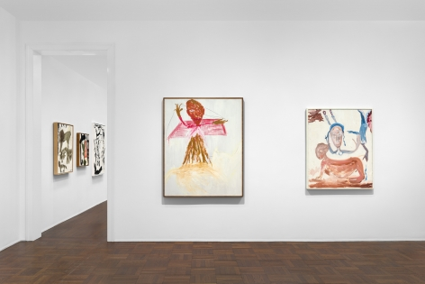 Don Van Vliet, Parapliers the Willow Dipped, Paintings 1967-1997, New York, 2020, Installation Image 1