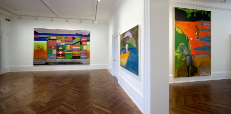 PETER DOIG, New Paintings, London, 2012, Installation Image 5
