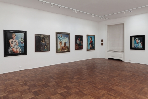 Francis Picabia, Late Paintings, New York, 2011-2012, Installation Image 5