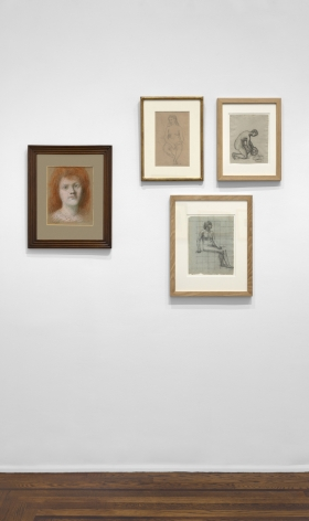 PIERRE PUVIS DE CHAVANNES, Works on Paper and Paintings, New York, 2018, Installation Image 13